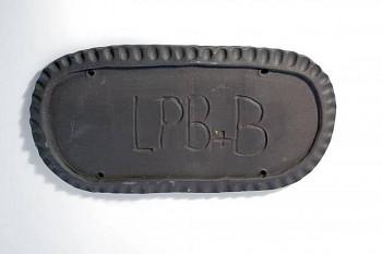 Keramická hlína LPB+B - černá burelová 10kg