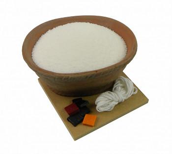 Sada na výrobu svíček palmový vosk 500g