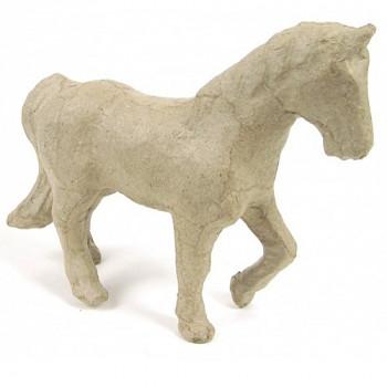Kůň z papírové hmoty