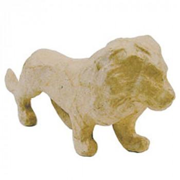 Lev z papírové hmoty