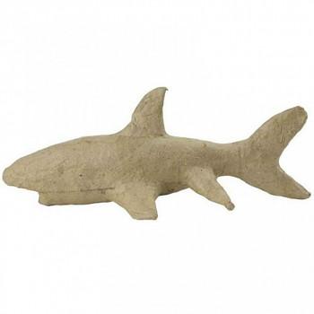 Žralok z papírové hmoty
