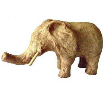Slon z papírové hmoty