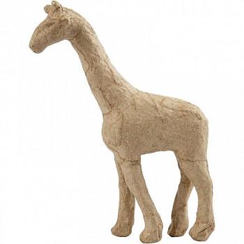 Žirafa z papírové hmoty