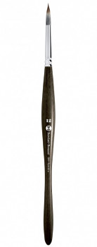 Kulatý ergonomický štětec mangusta 800 – vyberte velikost