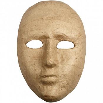 Maska z papírové hmoty dětská 17,5cm