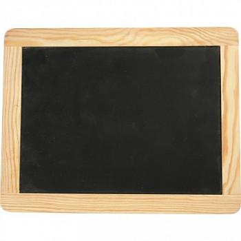 Dřevěná tabulka na křídu