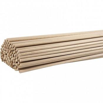 Dřevěná tyčka 8mm 80cm