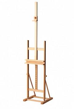 Malířský stojan ateliérový H – buk masivní