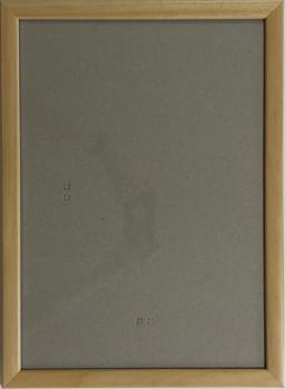 Hotový rám A1, sklo - přírodní barva