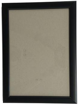 Hotový rám A3, sklo - černý