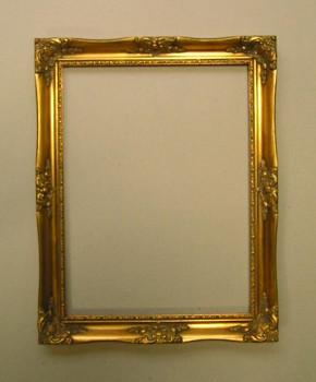 Blondelový rám zlatý 25x30cm