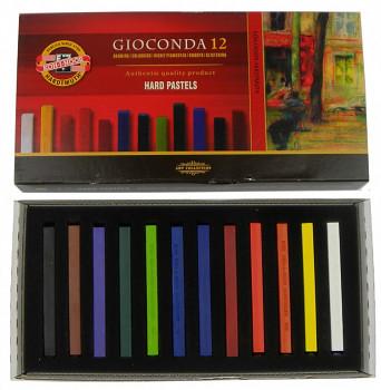 Gioconda sada tvrdých pastelů 12ks