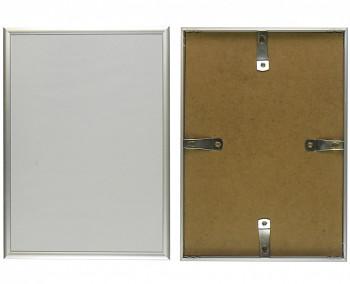 Hliníkový rám stříbrný matný 50x70cm