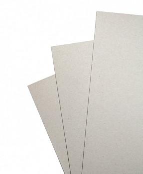 Karton šedý 70x100cm - 1,5mm