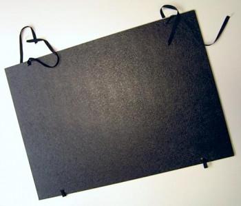 Desky na výkresy vázací černé - A2