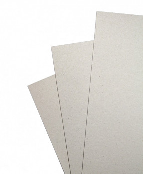 Karton šedý 70x100cm - 2,5mm