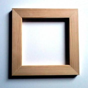 Rámeček na decoupage - dřevěný 32x32cm