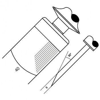 Skoblina 4002 - 50 drážek / cm