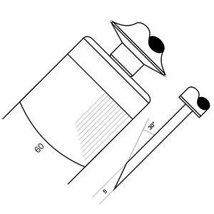 Skoblina 6306 - 16,6 drážek / cm