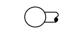 Hladítko kuličkové 57 - průměr 3mm