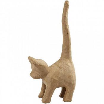 Kočka z papírové hmoty malá