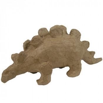 Stegosaurus z papírové hmoty