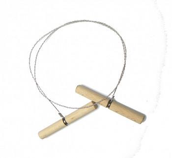 Řezací struna na hlínu dlouhá