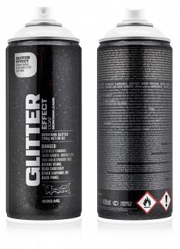Glitter effect Montana 400ml silver