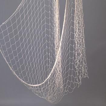 Bavlněná rybářská síť 100x400cm