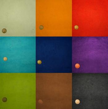 Ruční papír A4 – základní barvy – vyberte varianty